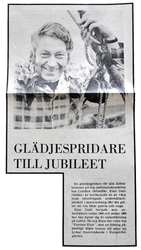 Klipp från Katrineholms-Kuriren - 1975