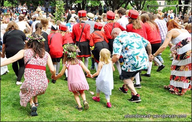 Societetsparken, Varberg - midsommarafton - 2016-06-24